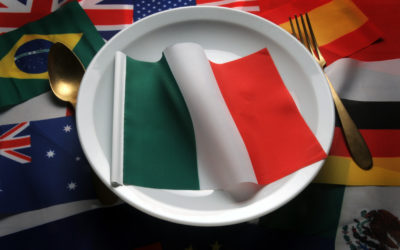 Which countries import the most Italian food?