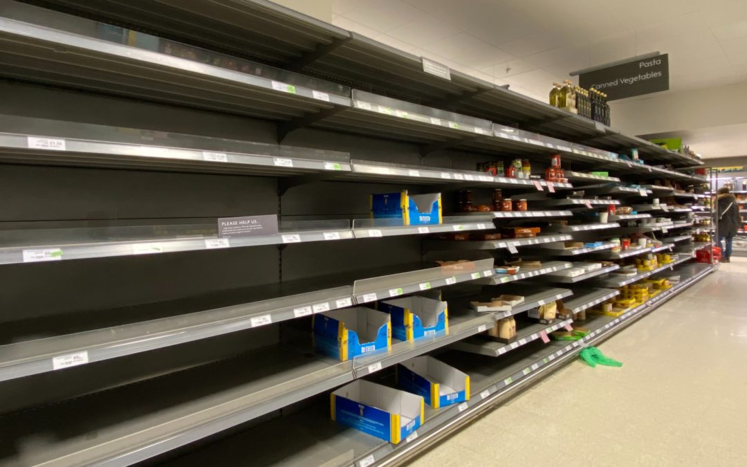 Panic Pasta – Italian foods in pandemic times